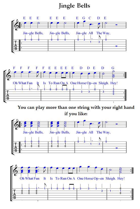 Guitar guitar chords jingle bells : guitar tablature for jingle Tags : guitar tablature for jingle ...